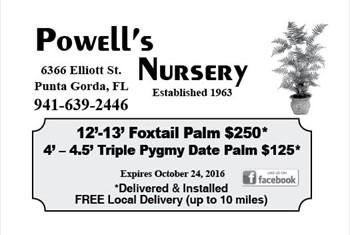 Powell's Nursery borderless