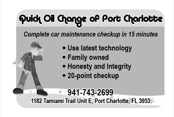 Quick Oil Change borderless