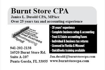 Burnt Store CPA borderless